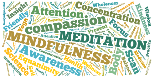 Mindfullness wordcloud 250h
